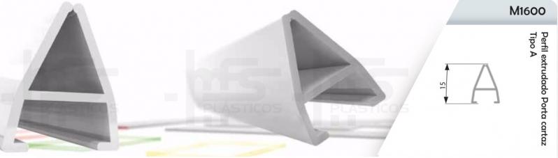 Compra de Perfil Plástico Tipo J Mauá - Perfil Plástico U