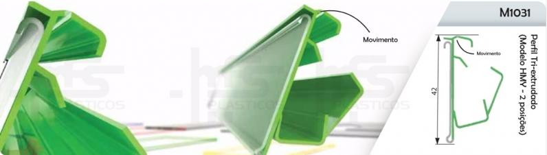 Perfil de Plástico Rígido Chácara Flora - Perfil de Plástico em U