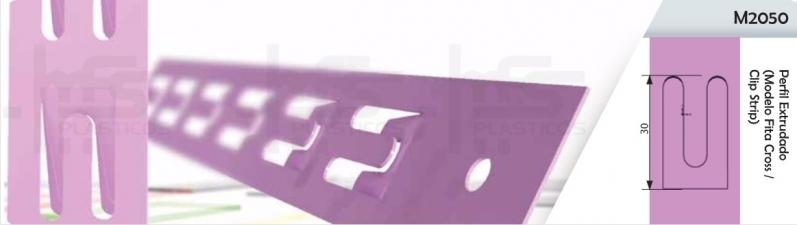 Perfil para Fixar Plástico Salvador - Perfil Plástico para Gôndolas