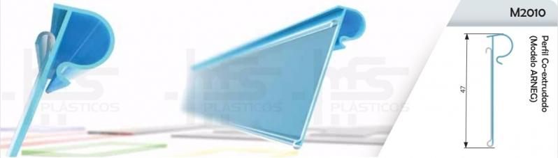 Valor de Perfil H Plástico Ferraz de Vasconcelos - Perfil Plástico Quadrado