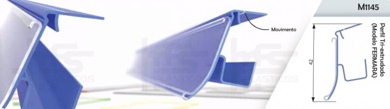 Compra de Perfil de Plástico em U Vila Andrade - Perfil Plástico para Vidro