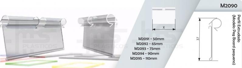Onde Vende Porta Preço e Etiqueta em Acrílico 4 X 3 Cm Cuiabá - Porta Etiqueta Acrílico Preço