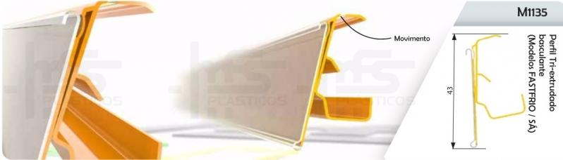 Porta Etiqueta Gôndola de Supermercado Osasco - Porta Etiqueta Gôndola Dupla Face