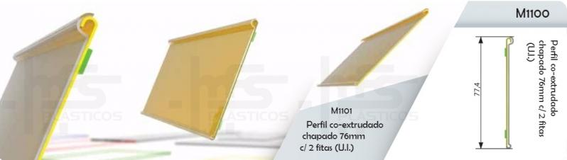 Porta Preço de Acrílico para Gôndola Atibaia - Display Porta Preço Acrílico