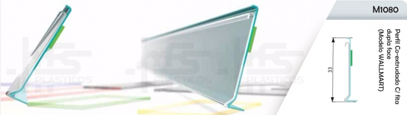 Quanto Custa Porta Etiqueta de Acrílico Tipo U Alto da Boa Vista - Porta Etiqueta para Prateleira de Vidro Tipo L