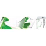 perfil de plástico rígido